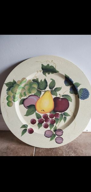 Home Interiors Princess House Wall Plate Décor Decoration $25.00 for Sale in Gardena, CA