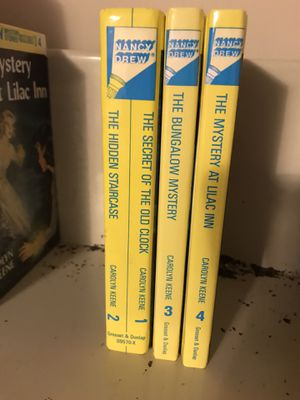 Vintage Nancy Drew 3 books (1-4) for Sale in Greensboro, NC