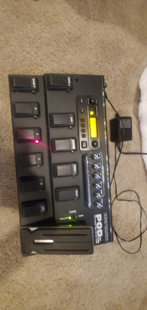 Pod xt live line 6 electric guitar multi effects processor for Sale in North Ridgeville, OH
