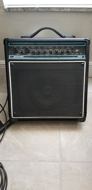 Acoustic brand guitar amp. for Sale in Lehigh Acres, FL