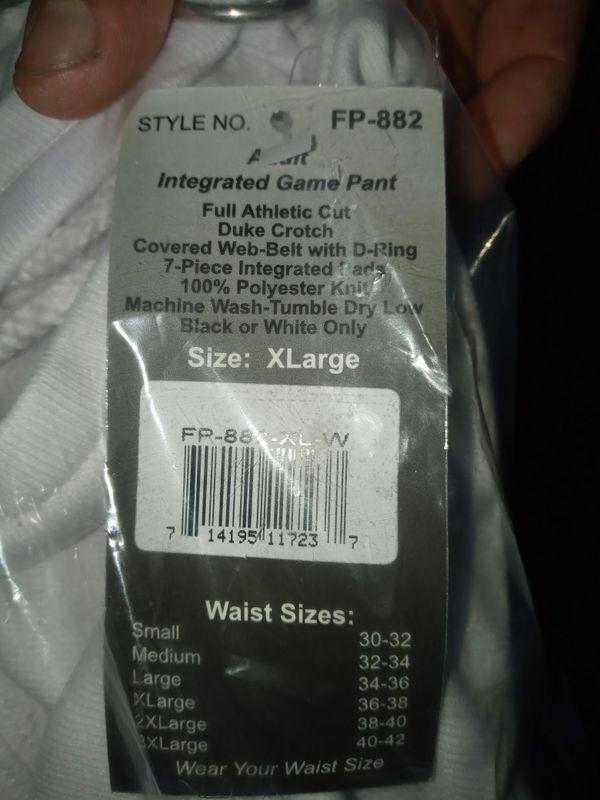 Football pants for sale
