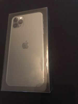 Apple iPhone 11 pro Max 256 GB Midnight Green Brand New Unlocked with proof of purchase receipt paid full price for Sale in Fremont, CA