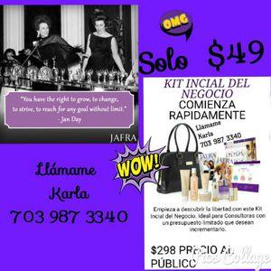 Empieza tu Propio Negocio con Jafra AHORA! for Sale in Manassas, VA