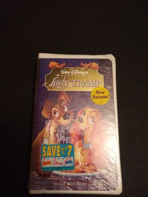 Lady and the tramp vhs sealed for Sale in Chicago, IL