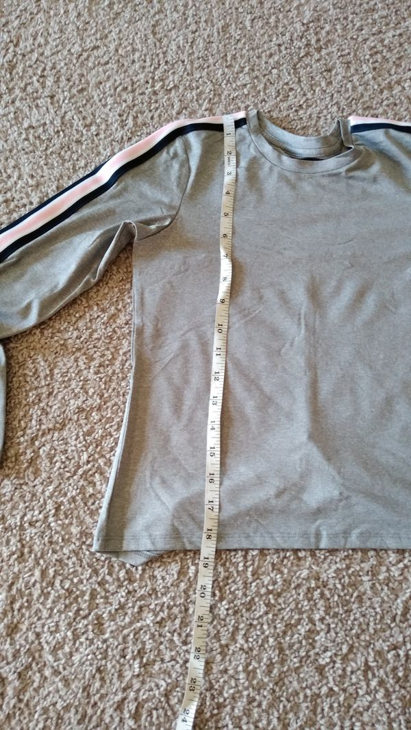 New Beautiful Athletic Long Sleeve Shirt , kids size M 7/8 ( new with tag )