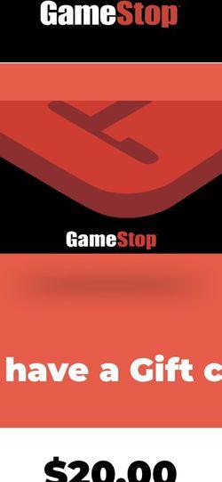 $20 GameStop Voucher for Sale in Portland,  OR