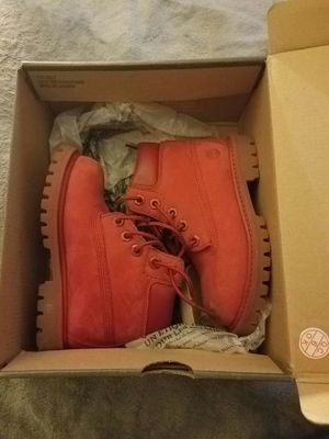 Kids Timberland (red) size 8 for Sale in Baltimore, MD