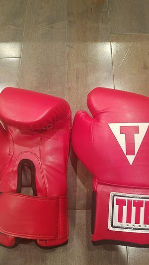 TITLE Boxing Gloves for Sale in Woodbridge, VA