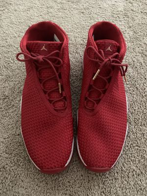 Jordan Future Size 11 Shoes Gym Red for Sale in Houston, TX