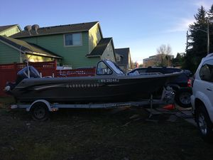 2000 Harbercraft 19' aluminum fishing boat Yamaha 115 hp 4 stroke for Sale in Seattle, WA