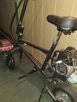 Selling My Minibike Needs A Lil Work Starts Right Yp for Sale in Wichita,  KS