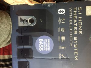 Home theater system with Bluetooth for Sale in Germantown, MD