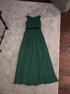 Allure Bridal Size 2 Long Chiffon Bridesmaid Dress for Sale in Houston, TX