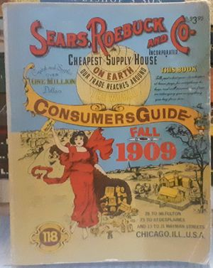 Reproduction Sears & Roebuck Catalog for Sale in Canton, IL