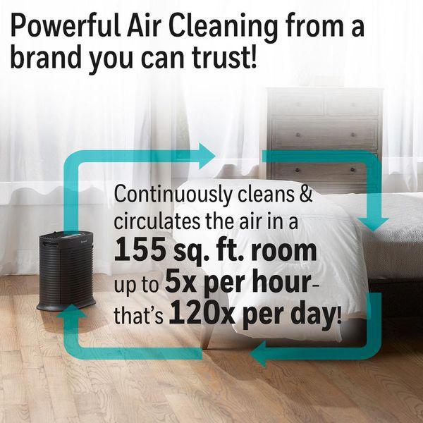 New Honeywell True HEPA 310 sq. ft. Air Purifier/Allergen Remover