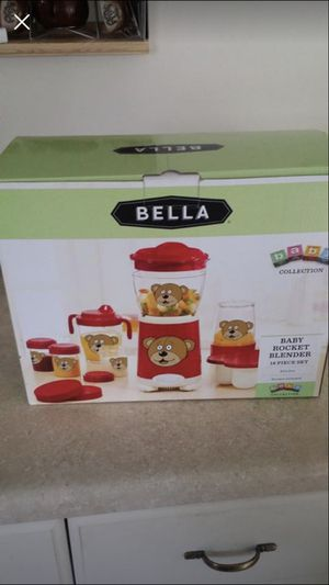 Bella baby food processor baby bullet for Sale in Silver Spring, MD