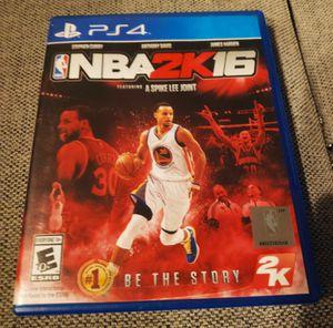 NBA 2K16 - PlayStation 4 for Sale in Lake Stevens, WA