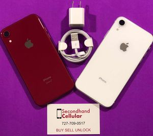 PRODUCT RED AND WHITE IPHONE XR SPRINT UNLOCKED for Sale in Tampa, FL