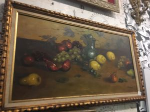 Vintage an antique still life oil painting for Sale in San Diego, CA