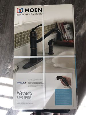 Moen kitchen faucet for Sale in Stockton, CA