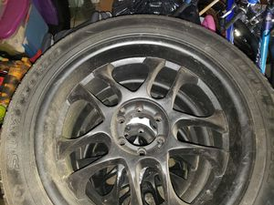 22 inch rims with tires for Sale in Kent, WA
