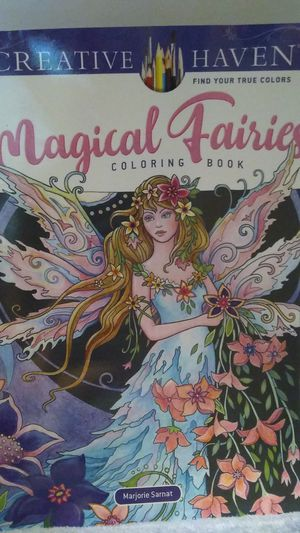 Magical fairies coloring book for Sale in Monson, ME