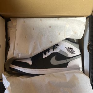 """Jordan 1 mid """"Shadow"""" size 12 DS for Sale in Glastonbury, CT"""