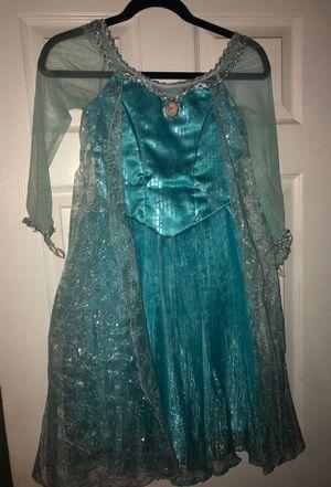 Disney Girls Frozen Elsa Costume Size 7/8 for Sale in Orange, CA