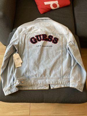 Guess Jeans Designer Denim Jacket for Sale in Fresno, CA