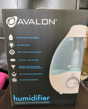 Avalon Humidifier with Aroma Diffuser and Night Light for Sale in Austin, TX