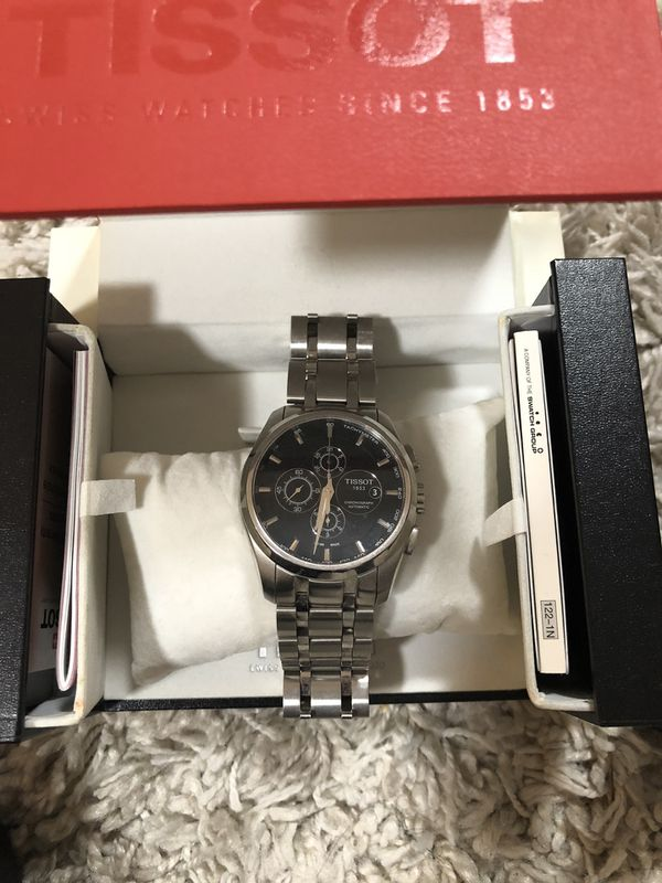 Tissot men's watches trade for Travel Trailer
