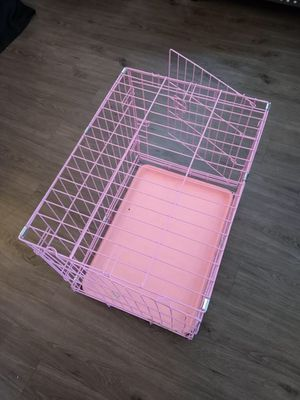 Pink Dog Crate for Sale in Frisco, TX