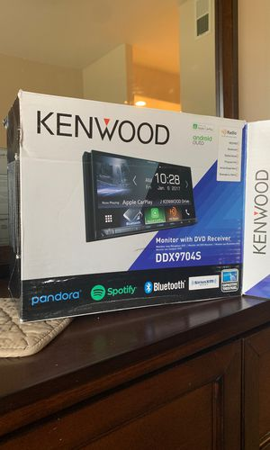 """Class D 400 watt amp/kenwood 7"""" in-dash touch screen for Sale in Scottsdale, AZ"""