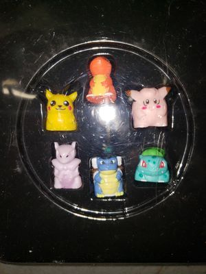 Pokemon monopoly pieces from 1999 for Sale in Puyallup, WA