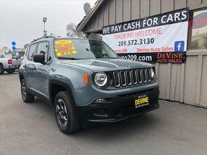 2017 Jeep Renegade for Sale in Modesto, CA