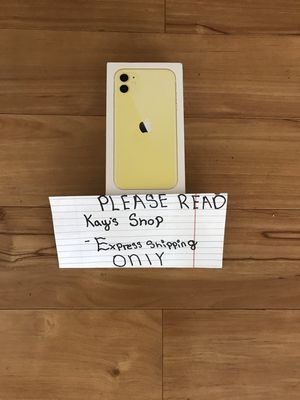 Yellow IPhone 11 for Sale in West Hollywood, CA
