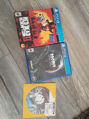 Ps4 games for Sale in Harbor City, CA