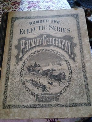 Geography book 1870 year printed for Sale in St. Louis, MO
