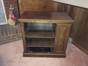 Wooden shelf cabinet for Sale in Greeley, CO