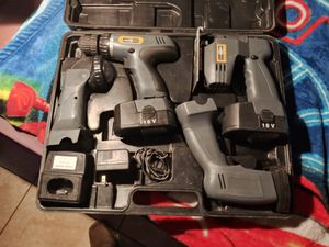 Nikota 4pc 18v drill set for Sale in Madera, CA