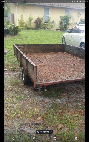 TRAILER FOR SALE. for Sale in Lake Worth, FL