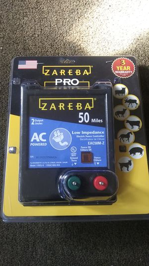 Zareba Low Impedance 50 mile electric fence controller for Sale in Enola, PA