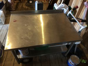 Prep table, Stainless steel for Sale in Bowie, MD