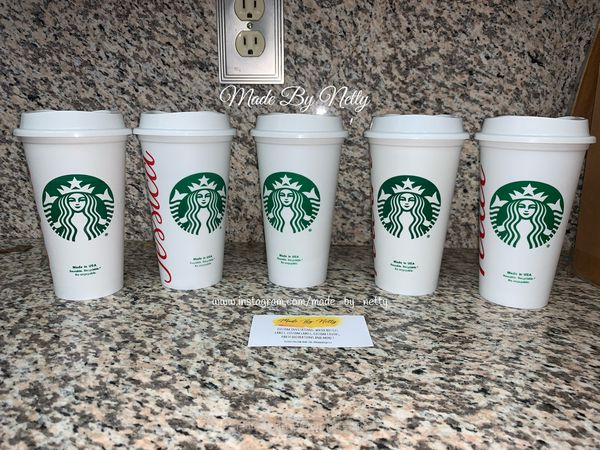 Starbucks cups hot reusable cups (ONE CUP)
