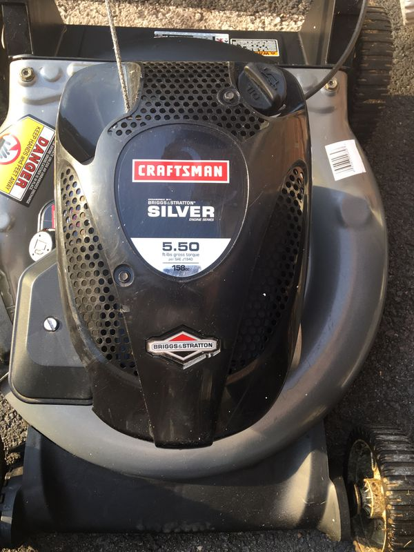 Craftsman 158CC lawn mower