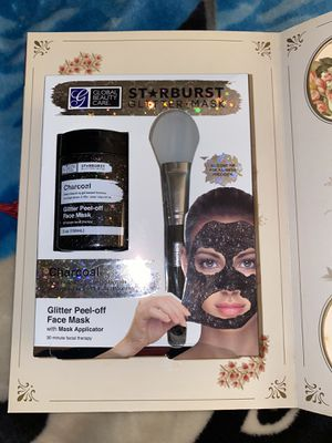 Starburst Charcoal Glitter Peel Off Face Mask for Sale in Riverside, CA
