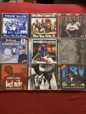 Rap hip hop gangsta rap g funk cds music for Sale in Santa Ana, CA