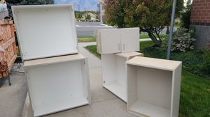 Tons of Cupboards, cabinets, drawers, filing drawers, and countertops. NEED GONE ASAP. for Sale in South Jordan, UT