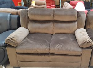 Brand New Brown Microfiber Love Seat for Sale in Wheaton-Glenmont, MD