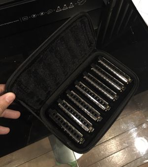 Hohner Blues Band harmonica set for Sale in Houston, TX